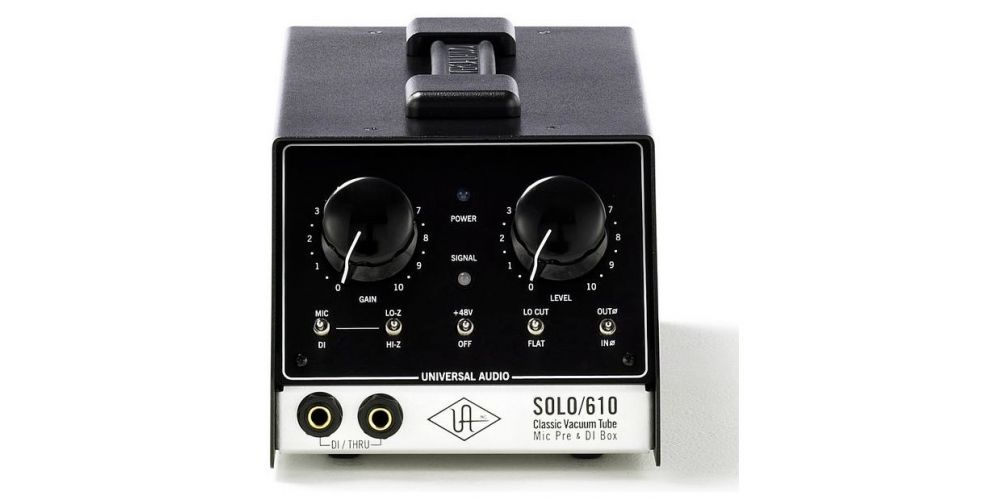 universal audio solo 610 frontal