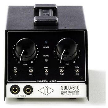 Universal Audio Solo 610 previo a válvulas