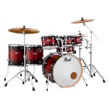 Pearl Decade Maple DMP925/S Gloss Deep Red, Set Bateria