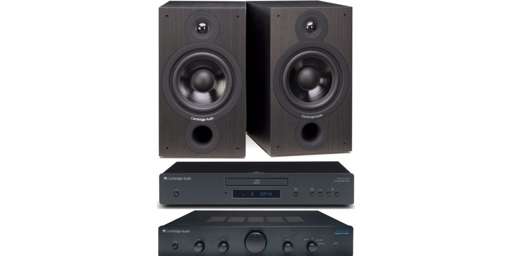 cambridge audio topaz am5 cd5 sx60 black altavoces