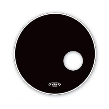 Evans 20 EQ3 Reso Black Parche de Bombo BD20RB