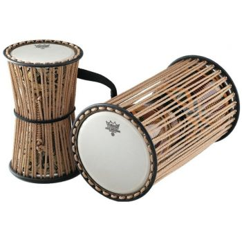 Remo Talking Drum Kanago Francis Awe Signature 8 x 16