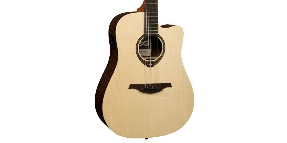 guitarra lag t270dce electro acústica