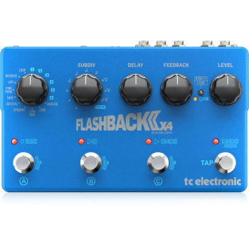 Tc Electronic FLASHBACK 2 X 4 Delay. Pedal Guitarra
