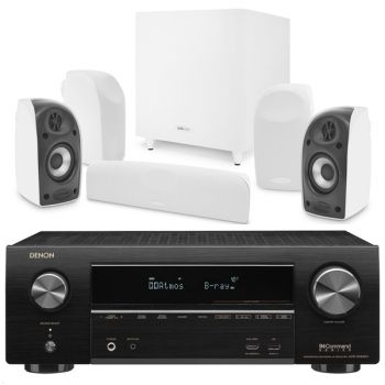 Denon Equipo AV AVR-X1600H + Polk TL1700. Conjuntos Home Cinema