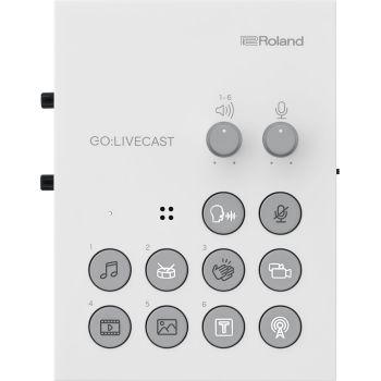Roland GO:LIVECAST Interfaz para Streaming. Producción para la transmisión en vivo de Smartphone