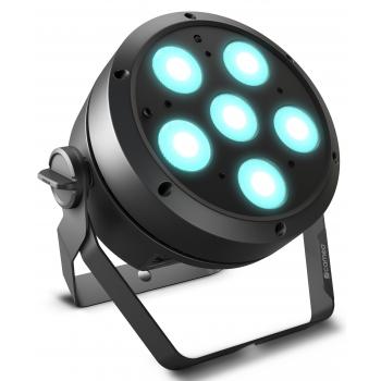 Cameo ROOT PAR 6 Foco PAR con 6 LED RGBAW + UV de 12 W