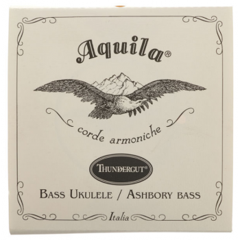 Aquila 68U Cuerdas Ukelele Bajo y Ashbory Bass Aquila