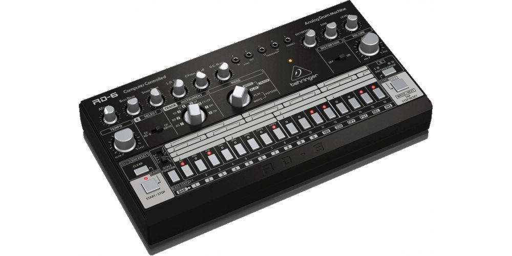 behringer rd 6 bk caja ritmos