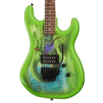 Kramer Snake Sabo Outfit Green Guitarra Eléctrica