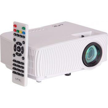 LTC VP1000-W Proyector de Video Compacto LED con Duplicación de Pantalla Wifi