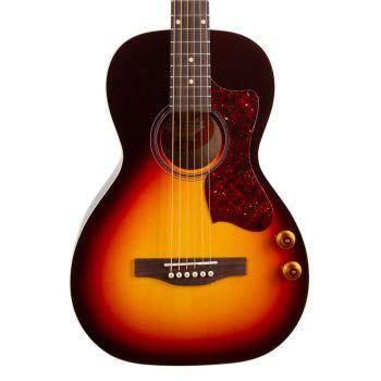 NORMAN B18 Parlor Cherry Burst GT Q-Discrete. Guitarra Acústica + Funda