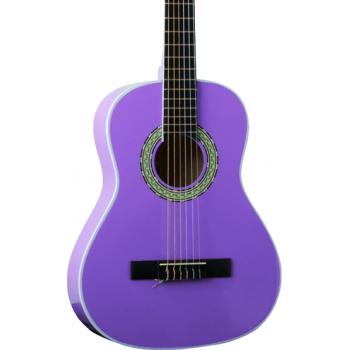 Eko CS-5 Violeta Guitarra Clasica