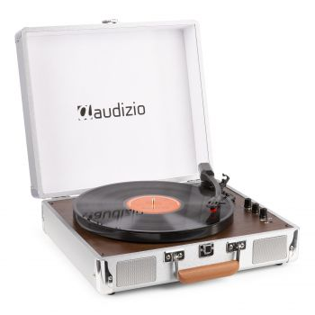 audizio RP320 Giradiscos con Altavoces Integrados y Bluetooth