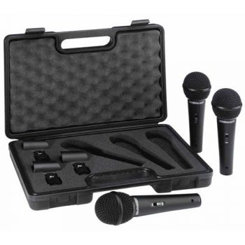 BEHRINGER XM1800S Microfono Dinamico Blister 3 UNIDADES