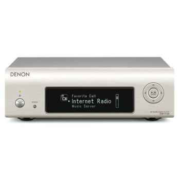DENON DNP-F109-S Silver Reproductor Mini Audio Red con Radio