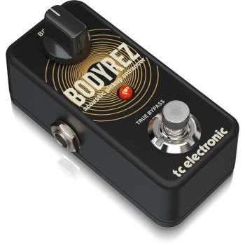 TC Electronic BodyRez Acoustic PickUp Enhancer, Pedal de Efectos