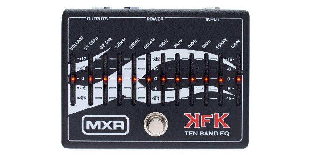 dunlop mxr kfk1 eq grafico 10 bandas front