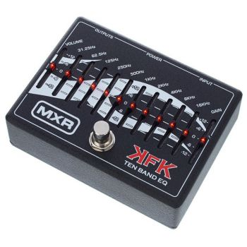 Dunlop MXR KFK1 EQ gráfico 10 bandas