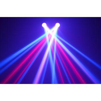 BEAMZ 153747 2-Some Conjunto 2x 57 RGBW LEDs