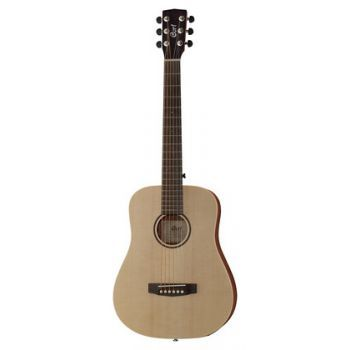 Cort Earth mini F Adirondack Guitarra de viaje mini