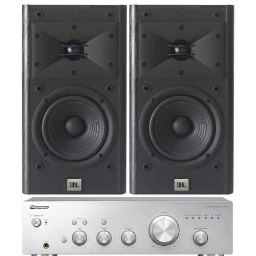 pioneer a 10 silver amplificador a10 jbl arena 120