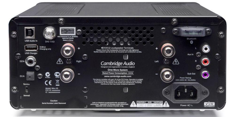 cambridge one black conexiones