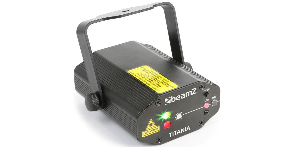 comprar Beamz Titania Laser RG Gobo IRC