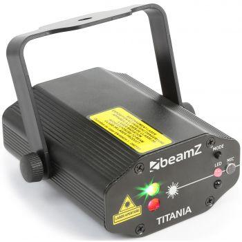 Beamz Titania Doble Laser RG Gobo IRC 152663