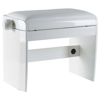 Dexibell DX BENCH POLISHED WHITE Banqueta