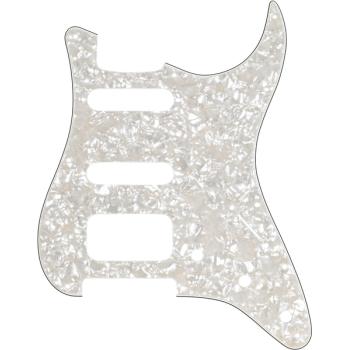 Fender Golpeador Stratocaster H/S/S 11 agujeros de montaje Blanco envejecido