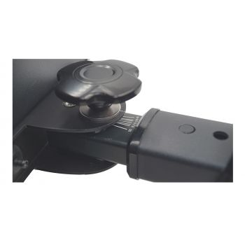 Audibax STM-10 Pareja Soporte Monitores Estudio Altavoces para Mesa Regulables