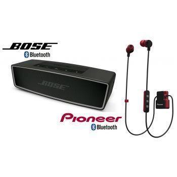 Bose Soundlink MINI II Carbono+Auricular Bluetooth Pioneer SE-CL5BTR