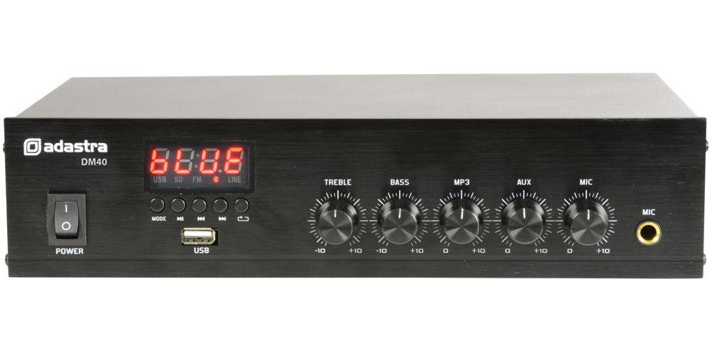 amplificador adastra dm40