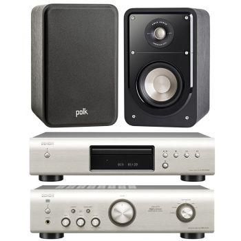 Equipo HiFi. DENON PMA-520 SI + DCD520 SI + POLK AUDIO S15e Equipo 520/S15e