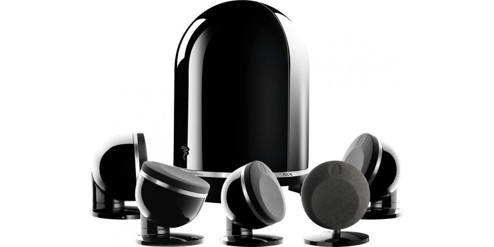 focal dome 5 1 black altavoces home cinema