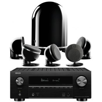 Denon AVR-X3500 Focal Dome 5.1 Black Conjunto Home Cinema