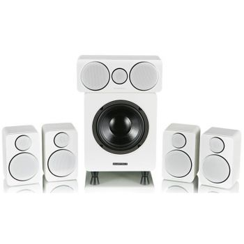 WHARFEDALE DX-2 White Altavoces Home Cinema 5.1 blanco