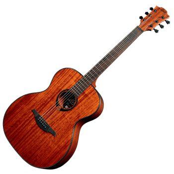LAG T90A Guitarra Acústica Tipo Auditorium Cuerpo de Caoba