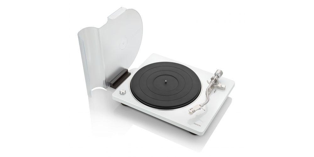 DENON DP 450USB White Giradiscos USB Previo phono blanco
