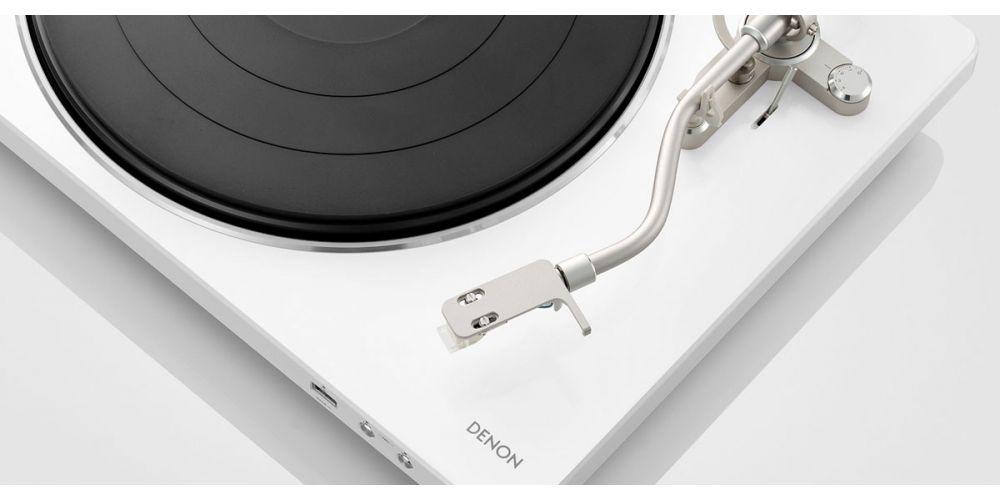 DENON DP 450USB White Giradiscos USB Previo phono
