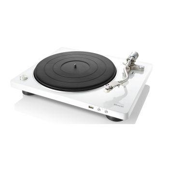 DENON DP-450USB White Giradiscos USB Previo phono