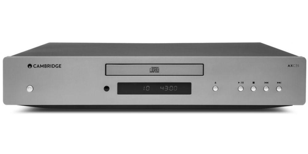 Cambridge Audio AXC35 compact disc conexiones silver