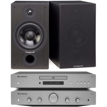CAMBRIDGE AXA25+AXC25+SX60-BK, Conjunto audio
