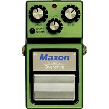 Maxon OD-9 Pro Plus Overdrive Pedal Efectos Guitarra