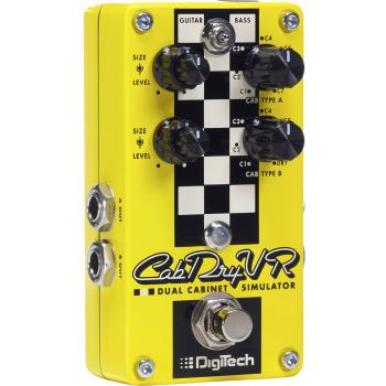 Digitech CabDryVR Pedal de efectos