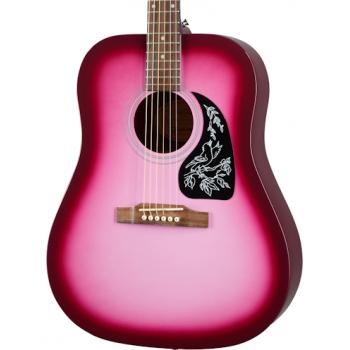 Epiphone Starling Hot Pink Pearl Guitarra Acústica