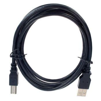 Cordial CUUSB-1,8 Cable conectores USB A y USB B 1,8 metros