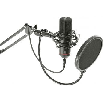 BST STM300-Plus Micrófono Profesional USB para Grabación, Streaming y Podcasting