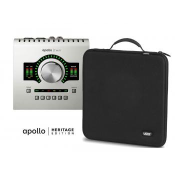 Universal Audio Apollo Twin Duo Usb Heritage Edition (Solo para Windows) con Funda UDG